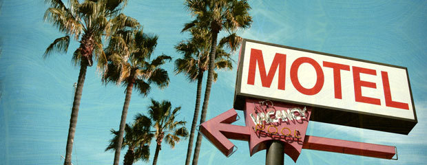 Hollywood Motel Sign