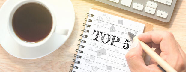 Top 5 Blog Posts for Hotels