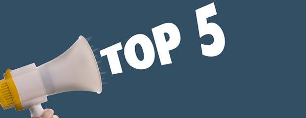 Top 5 Blog Posts of 2019