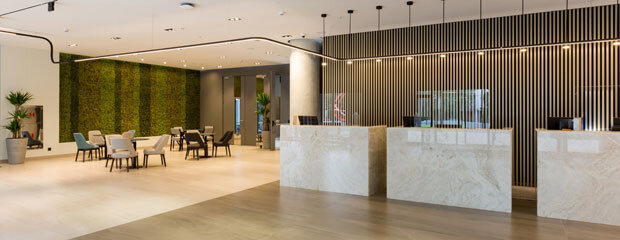 Covid-19 Hotel Lobby