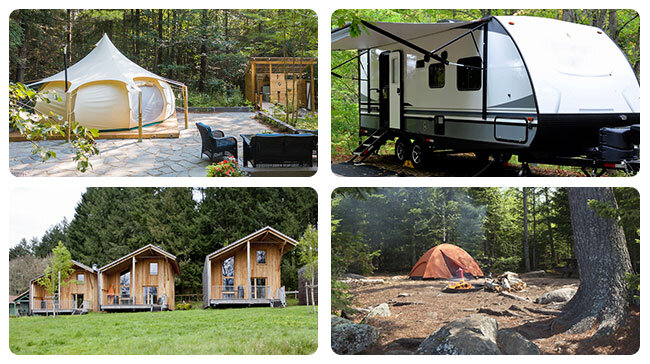 Multi-location Campgrounds